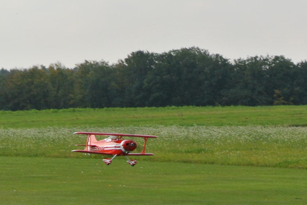 Pitts Landung
