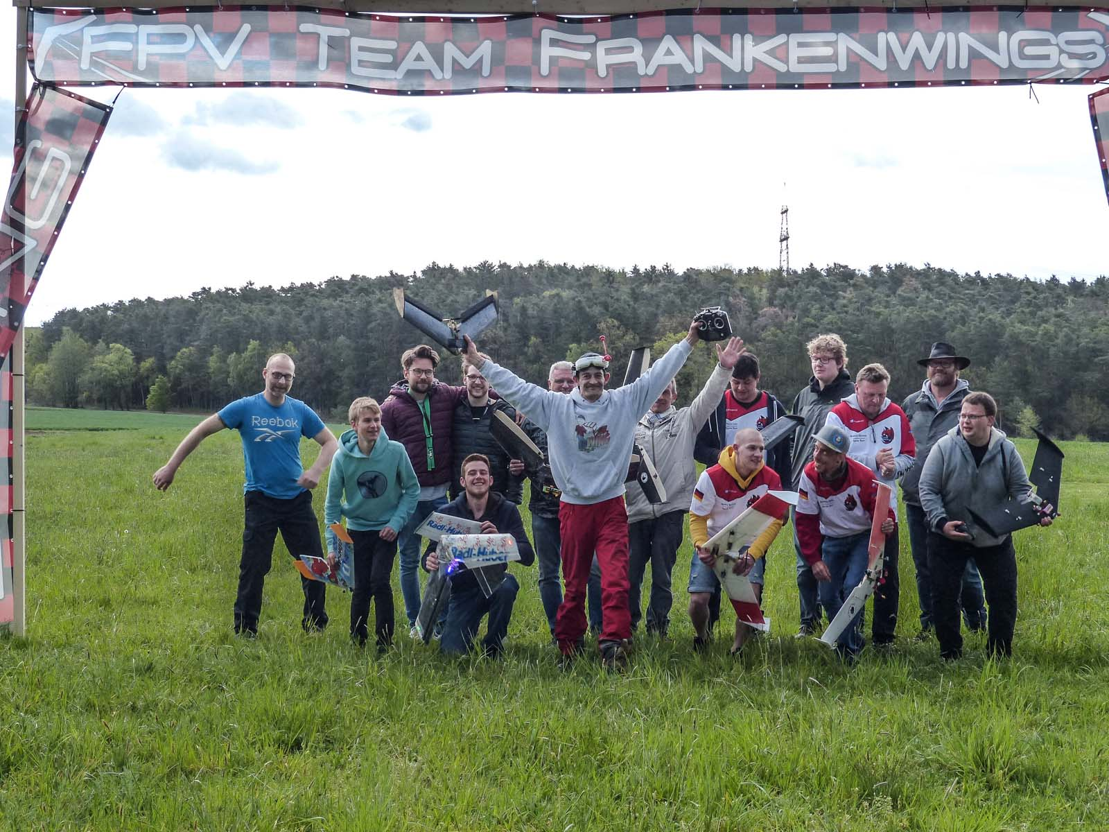 FPV Fixed Wing Wettbewerb am 27.04.2019